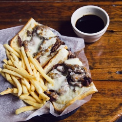 French Dip Sandwich from Coach's Pizza