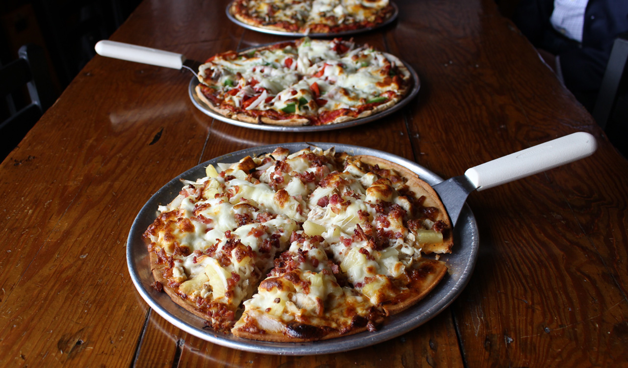 Ask for a gluten-free crust for any pizza.