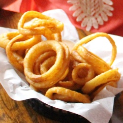 Onion Rings from Coach's Pizza